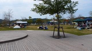 鳴門ウチノ海総合公園にて
