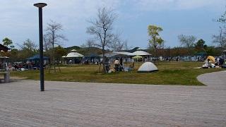 鳴門ウチノ海総合公園にて2