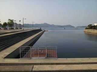 鳴門ウチノ海総合公園シーカヤック浮桟橋2