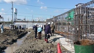 2016年11月29日 鳴門市学校給食センター新築工事視察