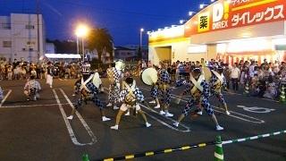 2016年8月9日 鳴門市阿波おどり初日の様子
